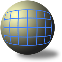 wide angle spherical projection