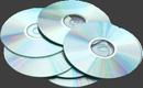 россыпь компакт-дисков