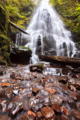 Fairy Falls - Columbia River Gorge, Oregon, USA