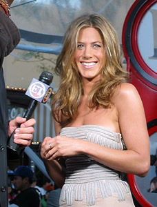 Deer in headlights example - Jennifer Aniston