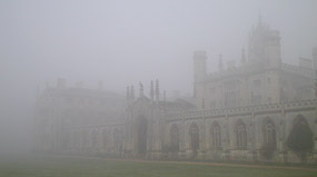 St Johns College - New Court in the Fog