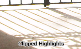 Clipped Highlights
