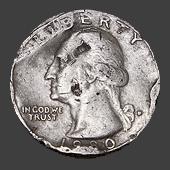 макроснимок монеты