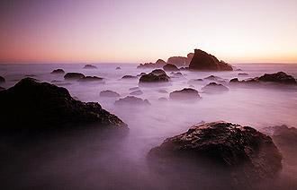 морской пейзаж с ND-фильтром