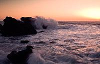 волны при короткой выдержке