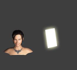 диаграмма подсветки с использованием ключевого треугольника