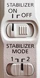 переключение стабилизатора в режим проводки