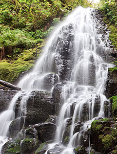 пример снимка водопада