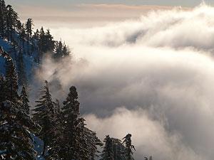 Пример телепланов — гора Бальди, Калифорния