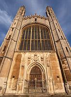 Сходящаяся вертикаль — часовня Колледжа Короля в Кембридже